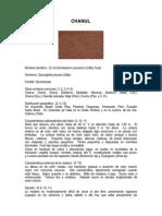 Especificaciones Tecnicas Del Chanul
