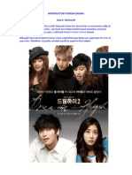 Korean Drama Course of Economics