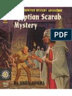 Biff Brewster Mystery #9 Egyptian Scarab Mystery