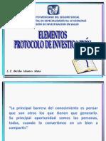 Elementos Protocolos de Investigacion