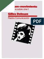 Gilles Deleuze - La Imagen-movimiento