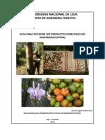 Guia Para El Estudio de PFNM en Ecuador