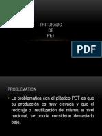 Pet(Triturado)