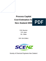 Capital Cost Estimation for NZ 2004