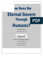 How Does The Eternal Govern Through Humans?