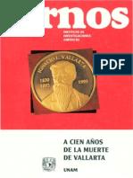 Cuadernos de Invest Jur (a 100 Años Muerte de Vallarta)