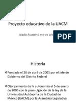 Proyecto Educativo de La UACM