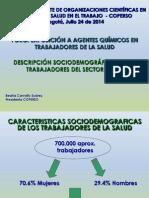 Descripción Sociodemográfica de Los Trabajadores Del Sector Salud