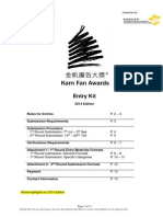 Kam Fan 2014 Entry Kit