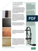 Equine Library 28 Leather Overview