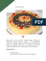 Recetas de Tartas Sin Meter Al Horno