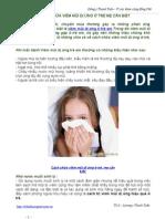 5 Cách Chữa Viêm Mũi Dị Ứng ở Trẻ Mẹ Cần Biết