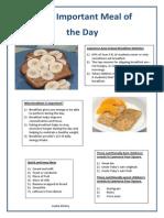 Leaha's Breakfast Flyer