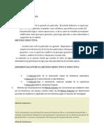 Dialectica Entre Los Metodos Deductivo e Inductivo