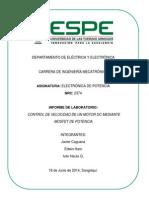 Informe_control de Velocidad Mosfet de Potencia_g6