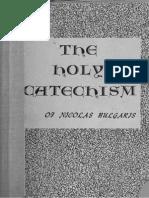 A Holy Catechism - Nicolas Bulgaris