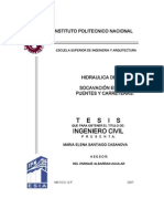 Hidraulica de Rios, Socavacion en Rios, Puentes y Carreteras