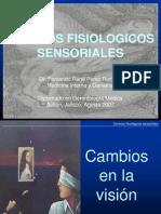 Cambios fisiológicos sensoriales