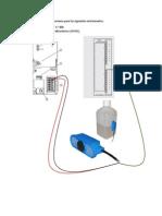 Realizar El Esquema de Conexiones Para Los Siguientes Instrumentos