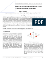 Efficient Distributed Detection of Node Replication Attacks in Mobile Sensor Networks