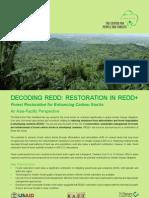 Decoding REDD :RESTORATION IN REDD+ Forest Restoration for Enhancing Carbon Stocks