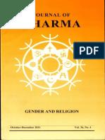Journal of Dharma Oct - Dec. 2011 Vol. 36 No. 4