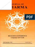 Journal of Dharma July - Sep 2010 Vol. 35 No. 3