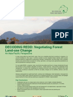 Decoding REDD :Negotiating Forest Land-use Change An Asia-Pacific Perspective