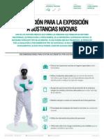 Prevencion Para La Exposicion a Sustancias Nocivas