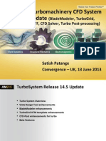 ANSYS Turbomachinery CFD System - 14.5 Update