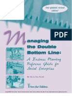 Managing the Double Bottom Line