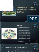 MicroGrid and Energy Storage System