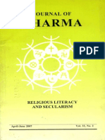Journal of Dharma Apr - June 2007 Vol. 32 No. 2