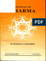 Journal of Dharma Oct - Dec 2006 Vol. 31 No. 4