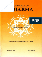 Journal of Dharma Apr. - June 2006 Vol. 31 No. 2