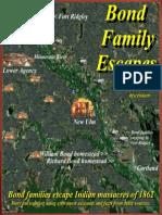 Bond Families Escape Sioux Indian Massacres of 1862