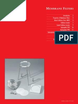 Inc. Pack of 100 Cellulose Acetate Plain 37 mm Diameter Advantec MFS C045A037A Membrane Filter Non-Sterile White