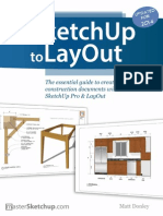 Sketchup to Layout Contents
