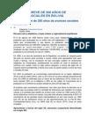 Historia Breve de 200 Años de Avances Sociales en Bolivia