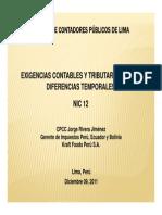PDF Diferencia Temporal