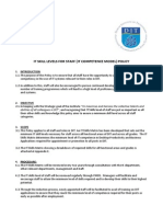 IT Skills Level for Staff - IT Competence Model - Policy - HRP077