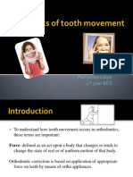 Mechanics of Tooth Movement