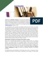Subsidiary Company Formation