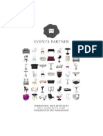 Events Partner Catalogue Furnishing
