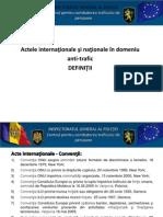 Prezentare Acte Internaţionale Antitrafic