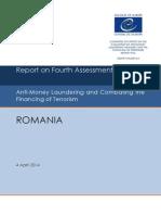 Raportul MONEYVAL despre România în evaluarea măsurilor împotriva spălării banilor şi finanţării terorismului