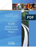 2009.12 - AASHTO Ready-To-Go Projects v3
