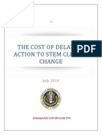 Cost of Climate Change Inaction Report