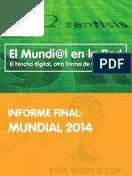 Análisis del Mundial 2014 en redes sociales