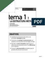 Tema 1-1 - La Estructura Met†Lica